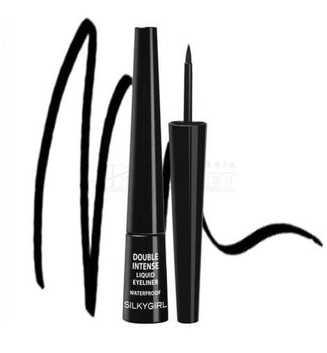 SILKYGIRL Double Intense Liquid Eyeliner 01 Blackest Black